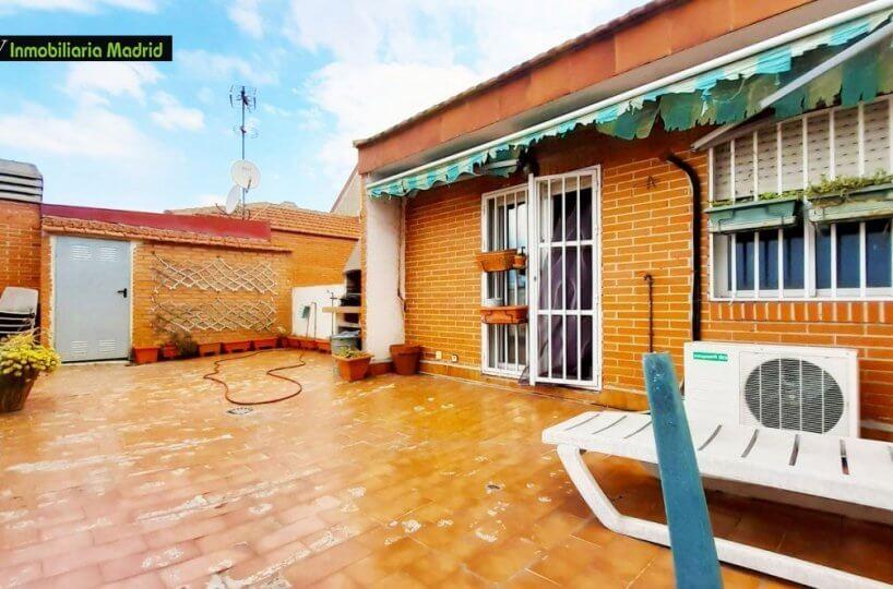 Ático Dúplex en Madrid Cuatro Dormitorios y Terraza de 30m2